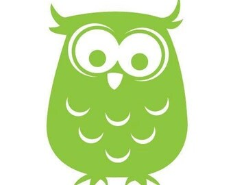 Owl Vinyl Decal