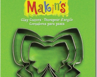 Makin's Clay Cutters (3 Pack) - Ribbon - Cookie Cutters