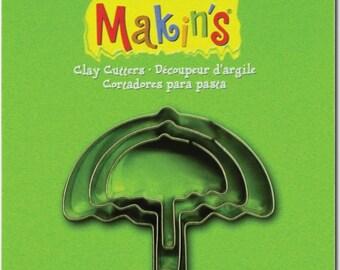 Makin's Clay Cutters (3 Pack) - Umbrella - Cookie Cutters