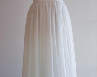 Pure Silk Wedding Skirt, Bridal Skirt