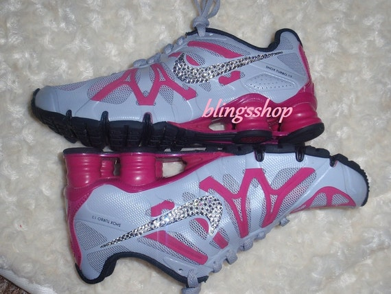 cheaper f9d4a e7a88 30%OFF Blinged Nike Womens NIKE Shox Current Shoes by Blingsshop on Etsy