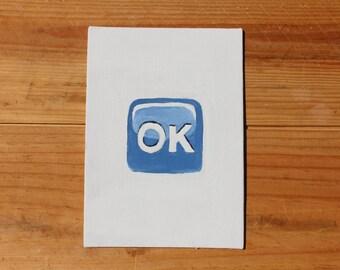 OK Emoji Painting