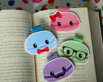 Cute Macaroons magnetic bookmark