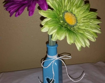 Glass Vase With Flowers