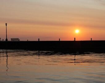 Lake Erie sun rise
