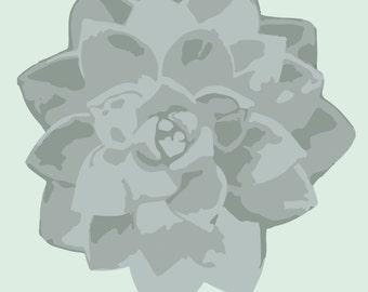 Succulent - Wall Print - KJGD021