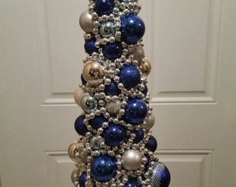 Christmas Tree Centerpiece with Lights