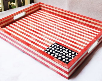 ON SALE! American Flag Bone In Lay Box