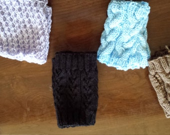 boot cuffs wrist warmers and socks