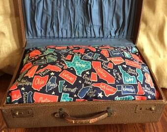 Vintage suitcase pet bed - Voter Registration