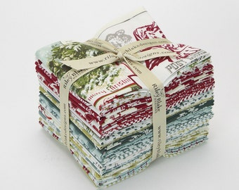 REDUCED**Postcards for Santa Fat Quarter Bundle from Riley Blake