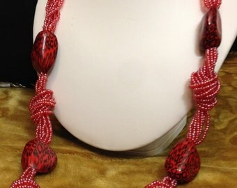 Authentic African Beaded Necklace