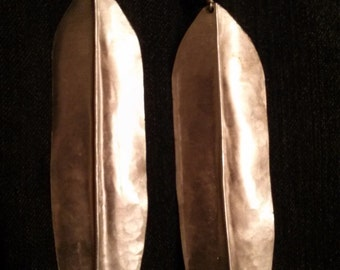 Aluminum Arrowhead Earrings