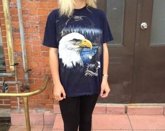 SALE: Vintage Eagle 'Wild Forest' T-shirt