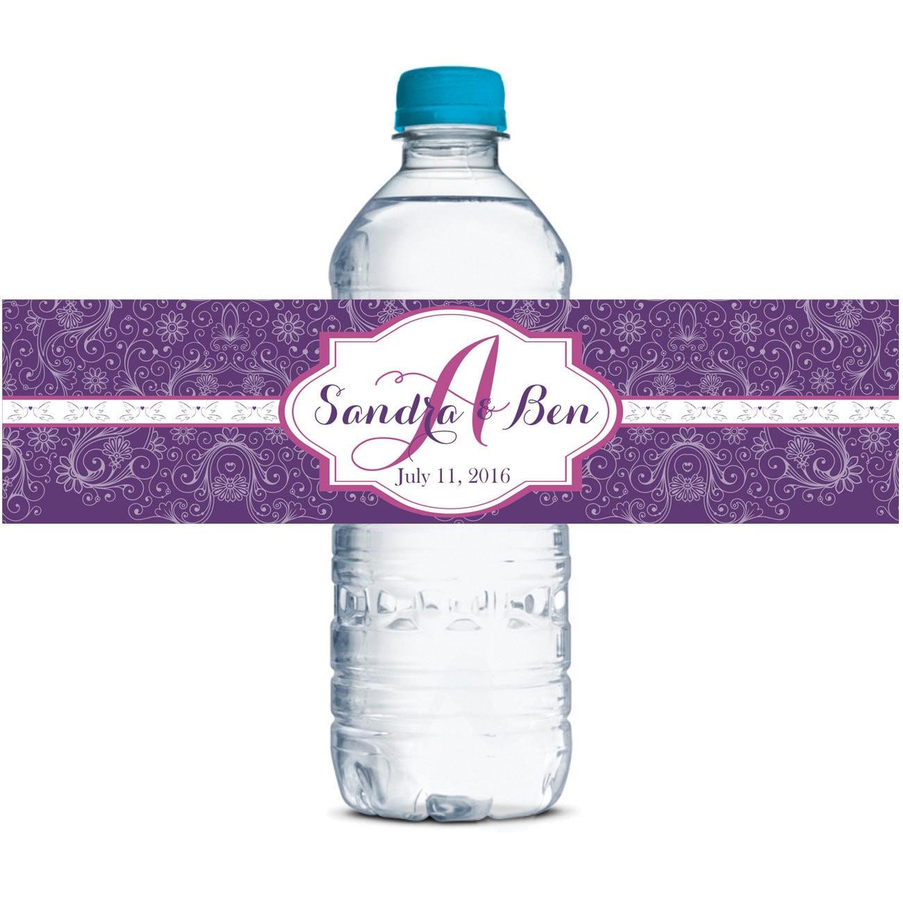 water bottle labels custom water bottle labels waterproof With custom waterproof labels for bottles