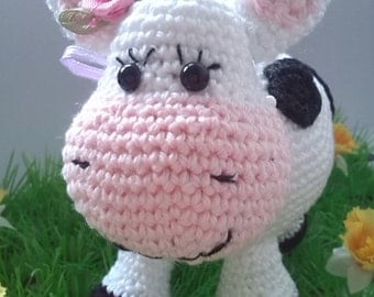 Coco the Cow crochet pattern