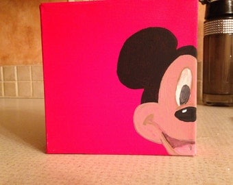 Mickey Mouse character square