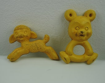 Vintage Plakie Rubber Teethers