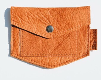 Vintage Cognac Leather Wallet Robyn