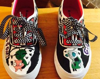 Invader zim shoes