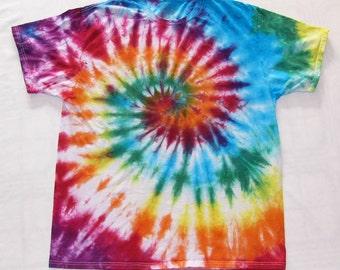 Tie Dye Spiral T-Shirts Cotton