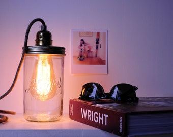 Lamp dimmer jar
