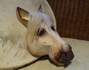 DIY Halloween mask, Horse head mask, horse costume, Printable Templates, Instant Download