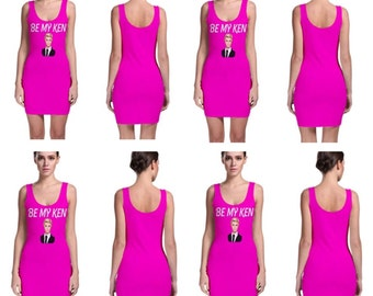 Be my Ken bodycon dress