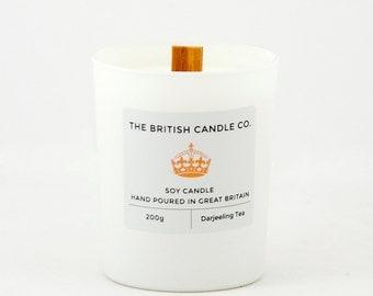 Darjeeling Tea Soy Candle