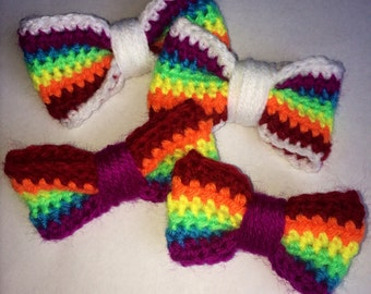 BUY ONE get one FREE Rainbow Hair Clips