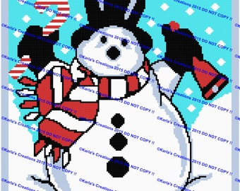 Snowman With Bell Graph