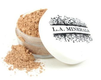 NoHoGlo Mineral Foundation | Light Coverage | Natural Cosmetics | Mineral Makeup | Made in the USA | Makeup for Acne Oily Skin