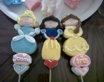 ANY Disney Princess Marshmallow Pops