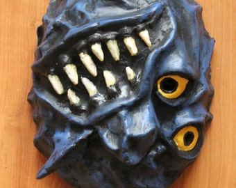 Mishmashed Mask | Paper Mache Mask | Costume