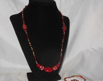 Red Mosaic Set