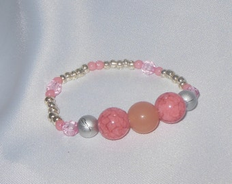 Children's Pink and Silver