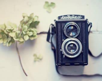 Vintage soviet camera LUBITEL