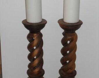 Hollow Spiral Candle Sticks
