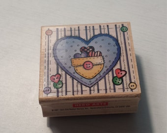 Pocket of Hearts Stamp