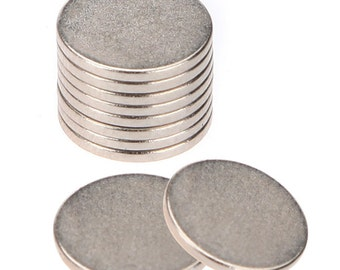 50PCS 12mm x 2mm Disc Rare Earth Neodymium Magnet N50 Great for Crafts Models USA Seller