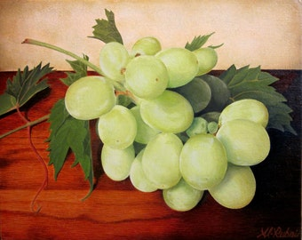 Still life with Grapes Giclee Prints
