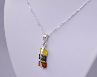 Unique and Simple Amber Pendant