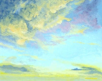 Painting Title: Beautiful Union Sky