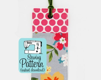 Fabric Bookmark PDF Sewing Pattern