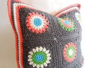 Cotton Crochet Pillow Cover