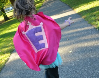 Superhero Cape Personalized kids Costume Birthday gift present  party favors