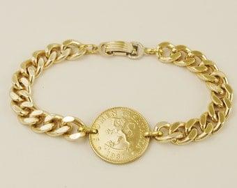 Finland Coin Bracelet 1987