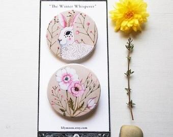 The Winter Whisperer - Badge Set