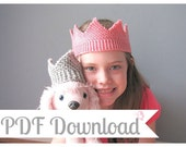 Dress Up Crown - Royal Knitting Pattern - PDF Download - Instructions for Bulky and Worsted