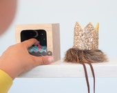 WILD THINGS mini crown MAX crown where the wild things are smash cake glitter crown